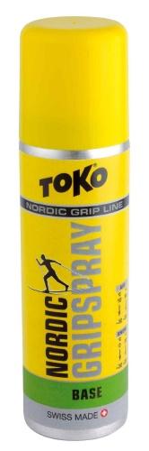 Спрей TOKO Grip Line Nordic GripSpray Base (зеленая базовая, 0С/-30, 70мл)