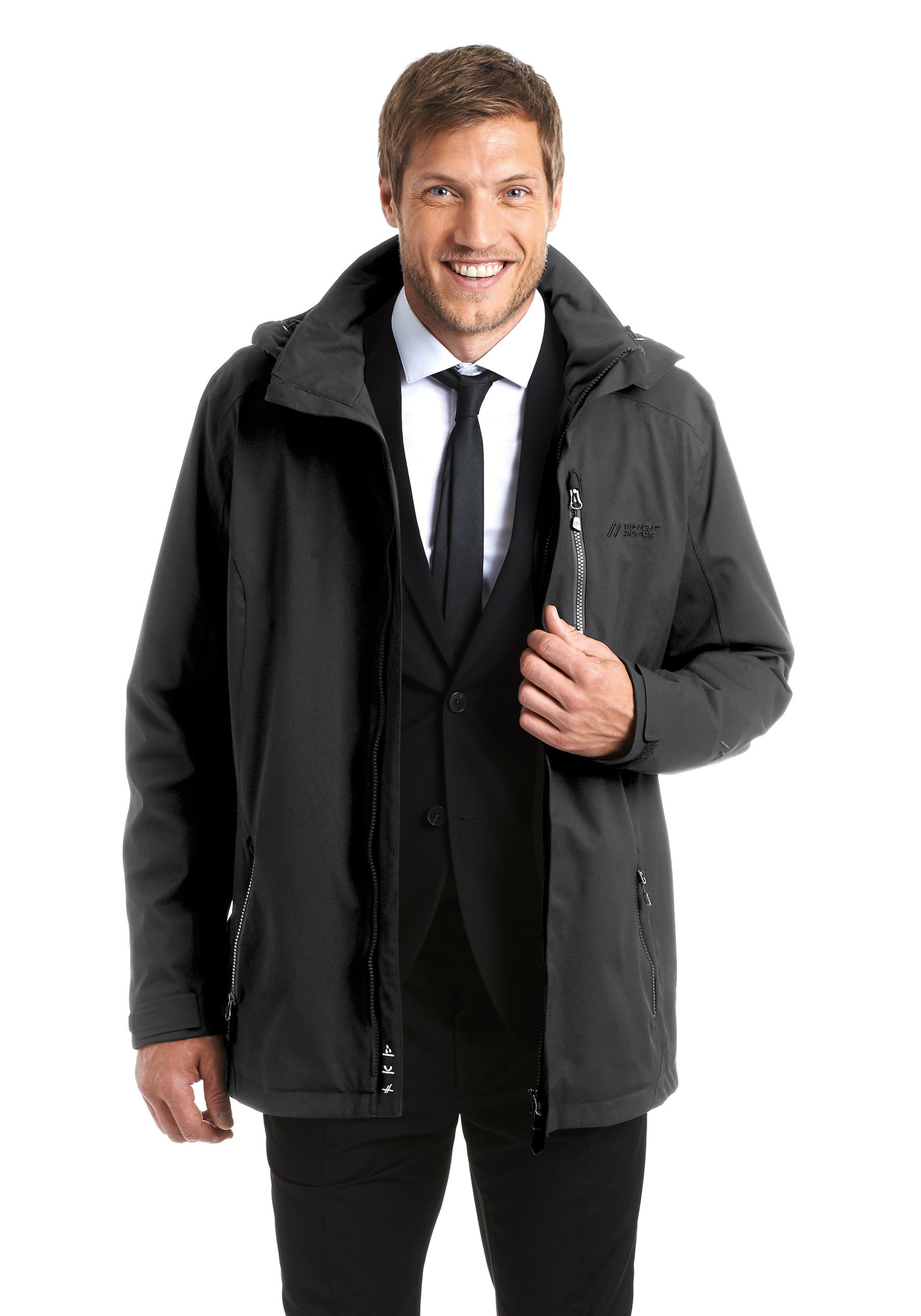 Куртка для активного отдыха MAIER 2016 MS active Job Jacket black