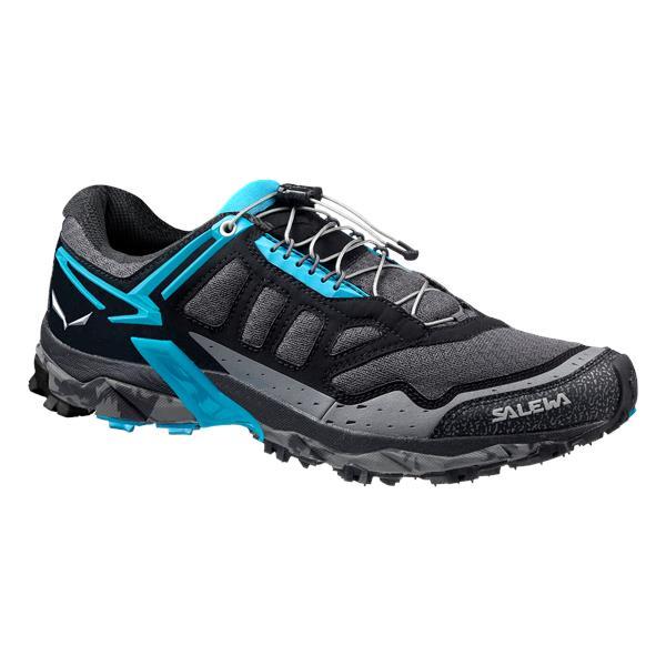 Ботинки для треккинга (низкие) Salewa 2017-18 WS ULTRA TRAIN Black Out/Ocean, Треккинговая обувь - арт. 1003000252