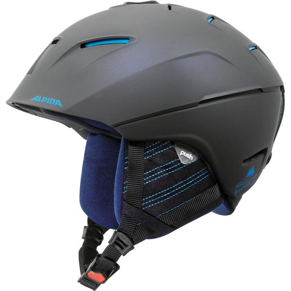 Зимний Шлем Alpina CHEOS nightblue-denim matt, Горнолыжные и сноубордические шлемы - арт. 925940428