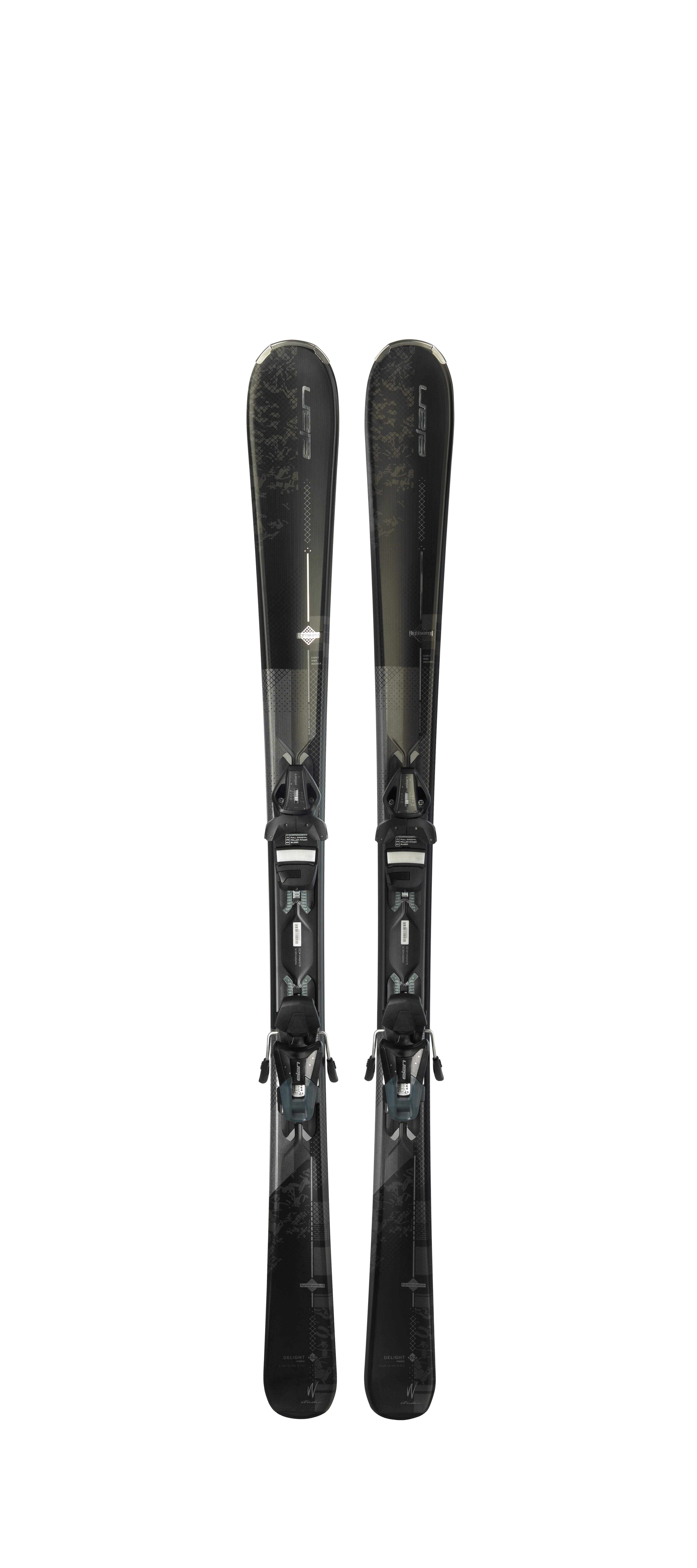 Горные лыжи с креплениями Elan 2017-18 Delight Magic ELW 9 LS