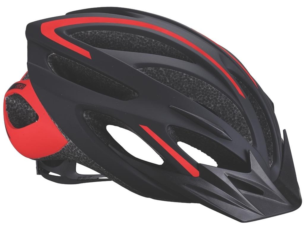 Летний шлем BBB 2015 helmet Taurus black red (BHE-26)
