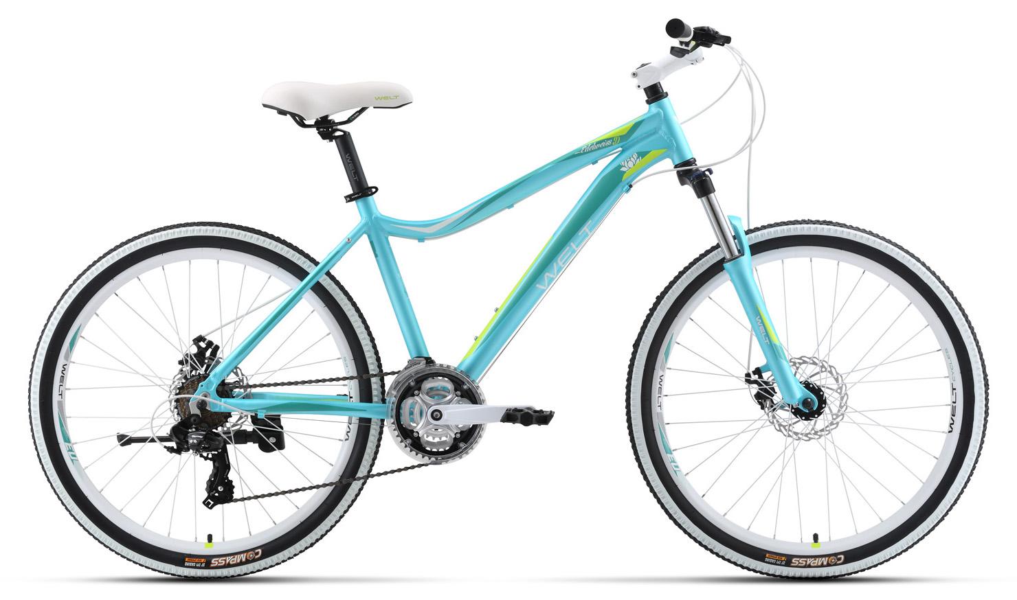 Велосипед Welt 2018 Edelweiss 1.0 D matt sea blue/green (US:M), Велосипеды - арт. 997440390