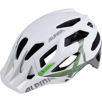 Велошлем Alpina 2018 Garbanzo white-titanium-green, Велошлемы - арт. 1017720356