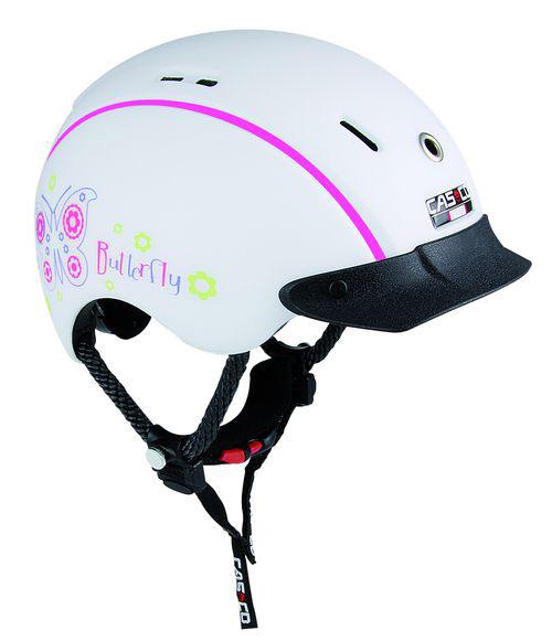 Летний шлем Casco 2016 YOUTH & KIDS Mini-Generation butterfly-white, Велошлемы - арт. 643730356