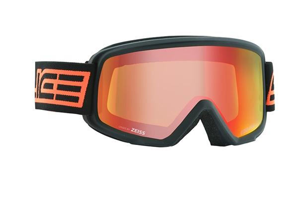 Очки горнолыжные Salice 605DARWF w. Coffre & Spare Lens BLACK-ORANGE/RW RED + SONAR, Горнолыжные очки и маски - арт. 1064670418