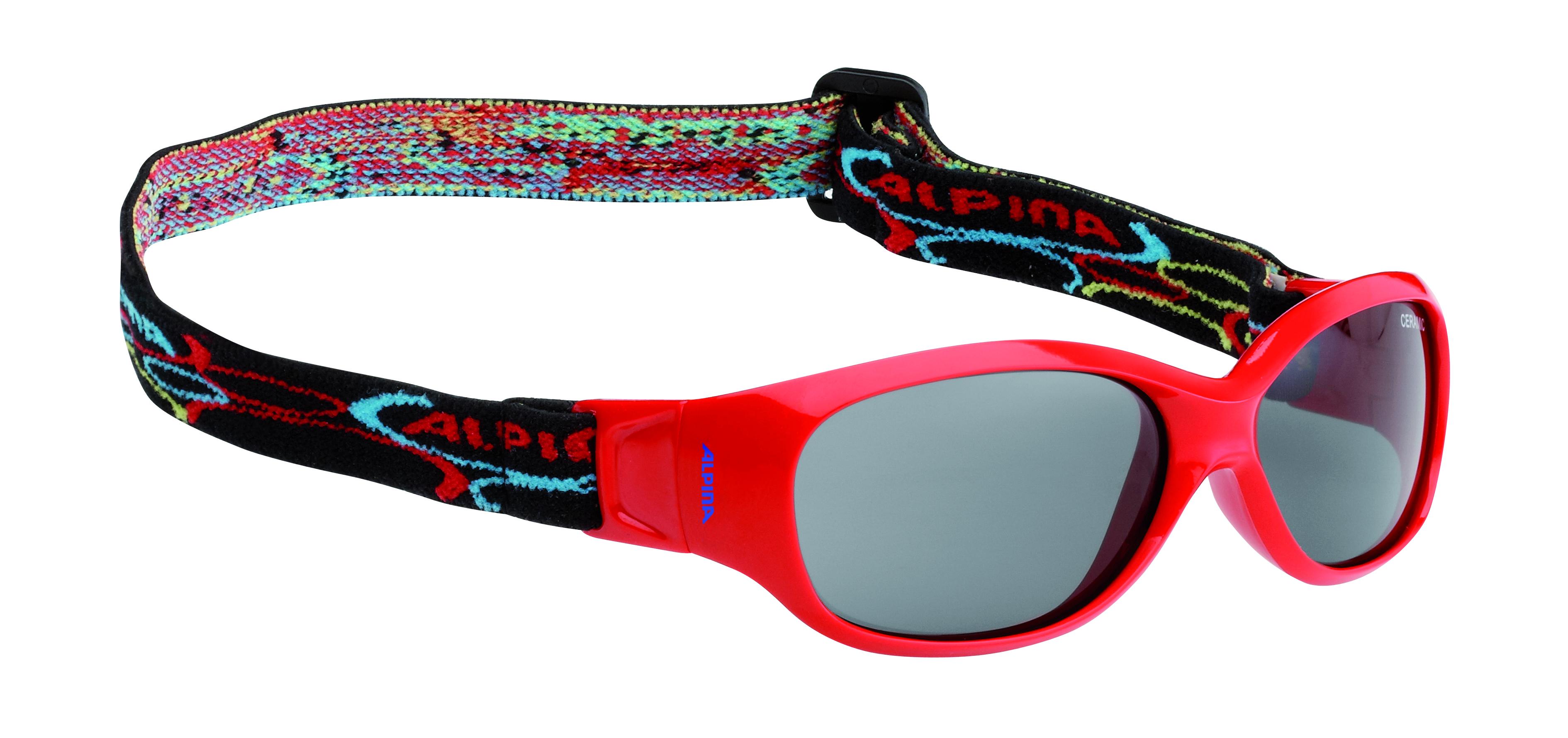 Очки солнцезащитные Alpina 2018 SPORTS FLEXXY KIDS red, Очки солнцезащитные - арт. 1017610413