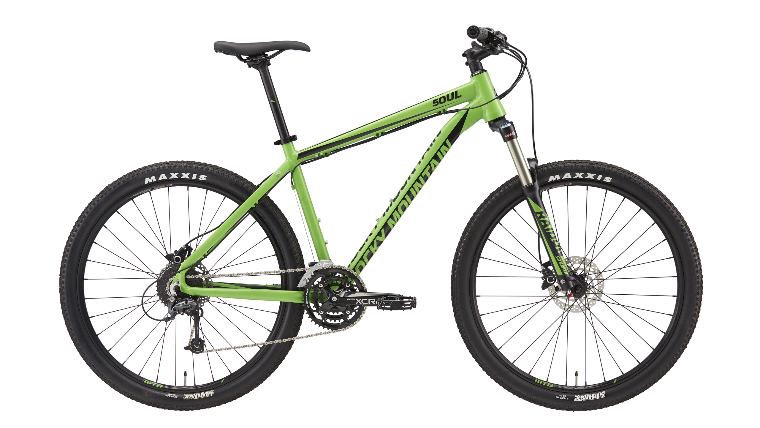 Велосипед ROCKY MOUNTAIN SOUL 730 2016 MATTE VENOM/BLACK