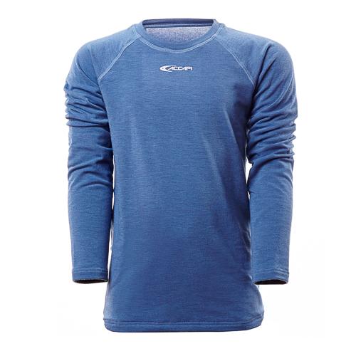 Футболка с длинным рукавомом ACCAPI TECNOSOFT PLUS EVO LONG SL.T-SHIRT JR blue (синий) - артикул: 644380179