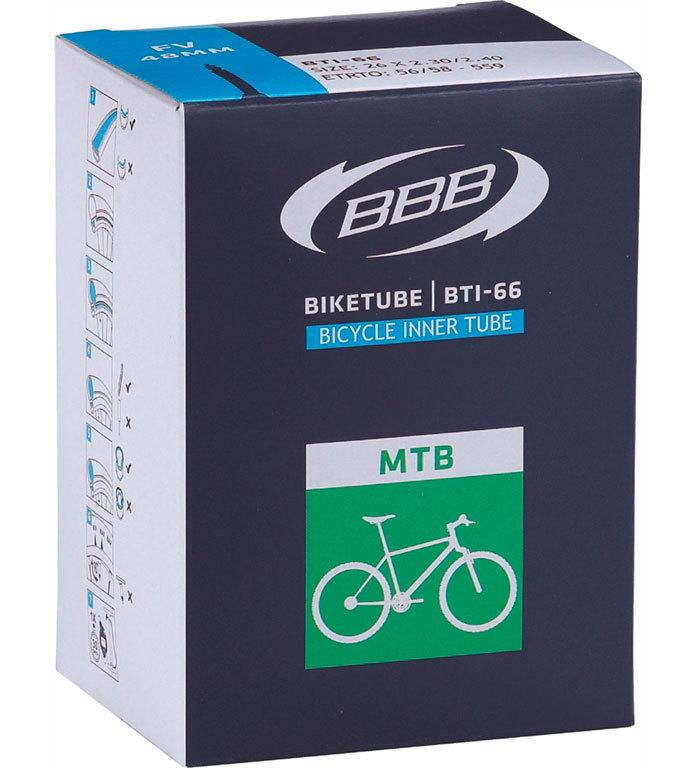 Камера BBB 27.5*3,0 FV 48mm (BTI-68), Велосипедные камеры - арт. 832330357