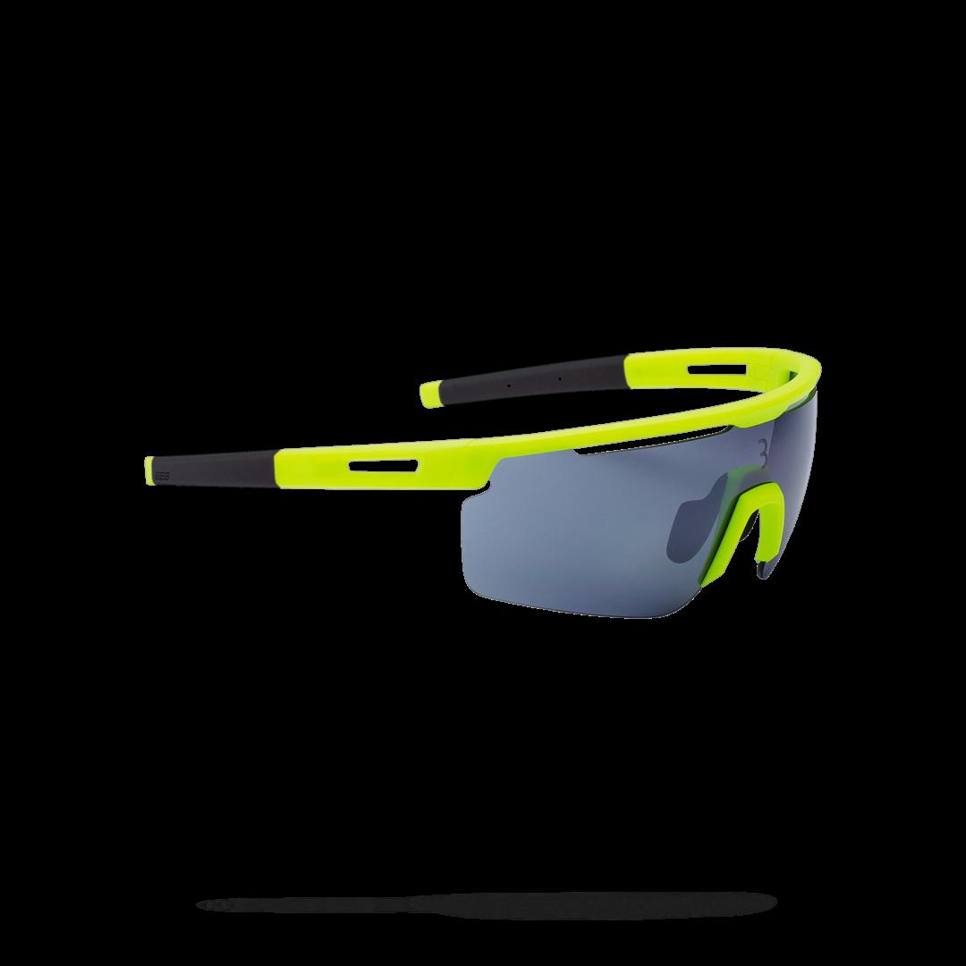 Очки солнцезащитные BBB 2018 Avenger PC Smoke flash mirror lenses желтый, серый, Очки солнцезащитные - арт. 1022040413