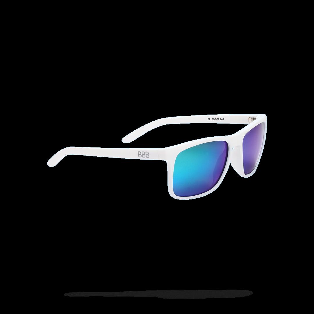 Очки солнцезащитные BBB 2018 Town PZ PC MLC green polarised lenses белый, Очки солнцезащитные - арт. 1022090413