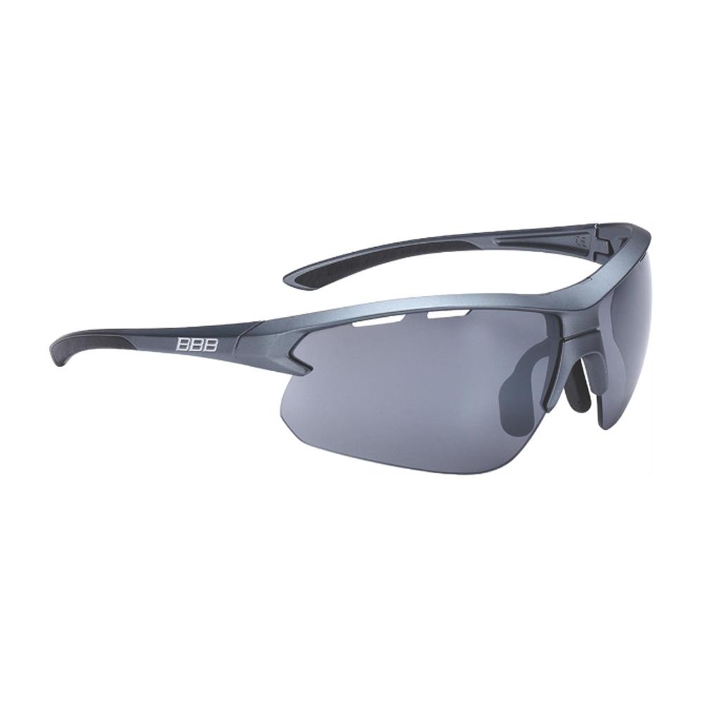 Очки солнцезащитные BBB 2018 Impulse PC Smoke flash mirror lenses черный, металл, Очки - арт. 1031360161