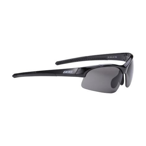 Очки солнцезащитные BBB Impress Small PC smoke lenses блестящий черный (BSG-48)