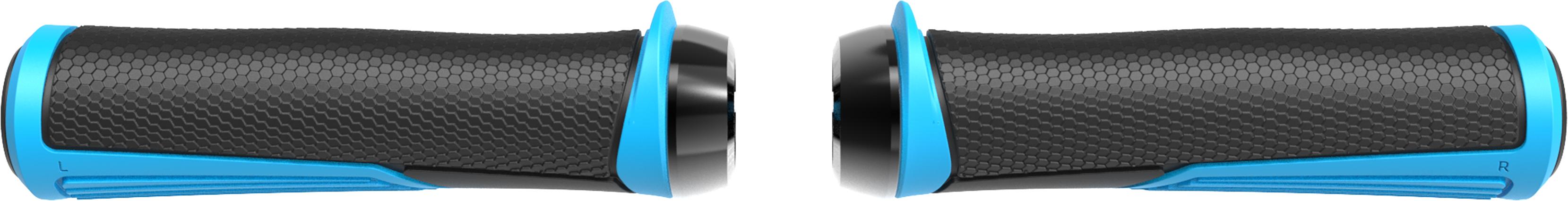 Грипсы BBB Cobra 142mm / blue / lockring light copper синий, Рулевая группа - арт. 1022150362