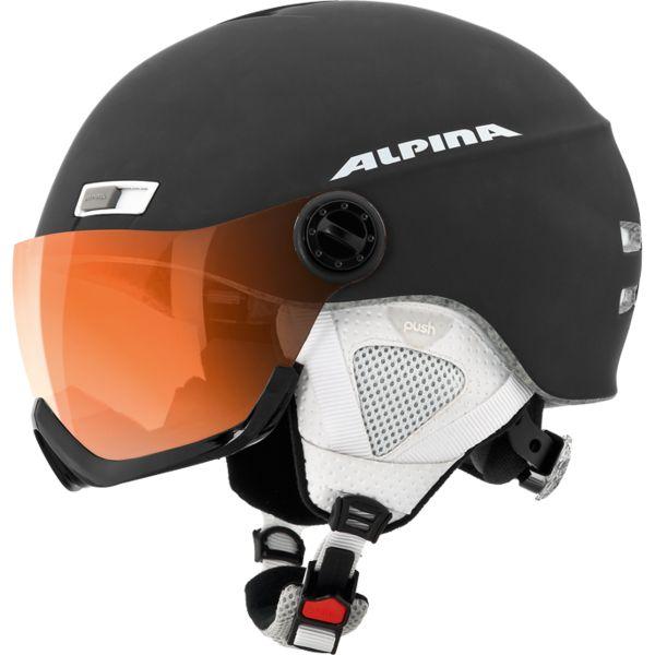 Зимний Шлем Alpina MENGA JV HM black matt, Горнолыжные и сноубордические шлемы - арт. 885210428