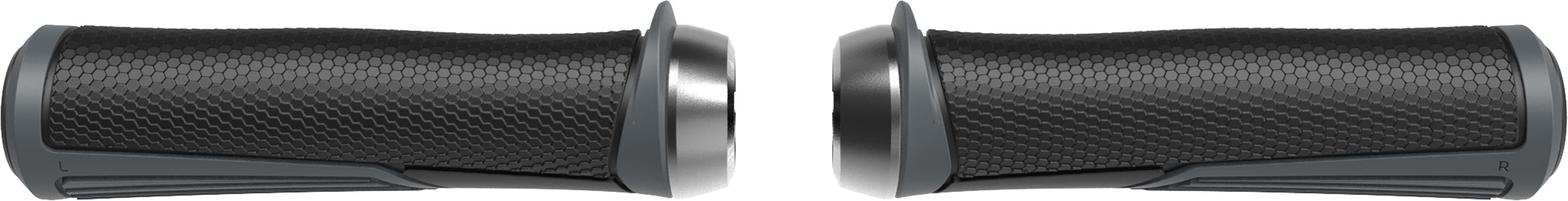 Грипсы BBB Cobra 142mm / dark grey / lockring dark grey тёмно серый, Рулевая группа - арт. 1022310362
