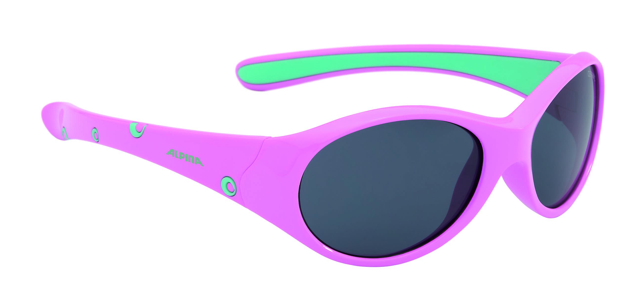 Очки солнцезащитные ALPINA 2017 FLEXXY GIRL rose-mint