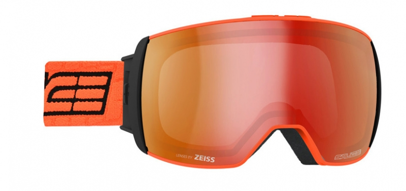 Очки горнолыжные Salice 605DARWF w. Coffre & Spare Lens ORANGE/RW RED + SONAR (б/р:ONE SIZE), Горнолыжные очки и маски - арт. 969310418