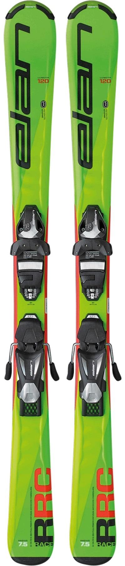 Горные лыжи с креплениями Elan 2017-18 RC Race QS 110-120