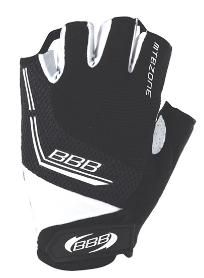 Перчатки велосипедные BBB MTBZone black (BBW-33)