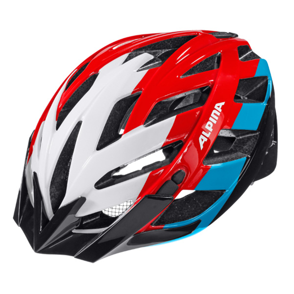 Летний шлем ALPINA 2016 TOUR Panoma white-red-blue, Велошлемы - арт. 645760356