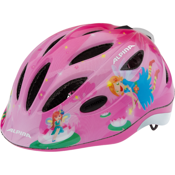 Летний шлем ALPINA JUNIOR / KIDS Gamma 2.0 Flash little princess