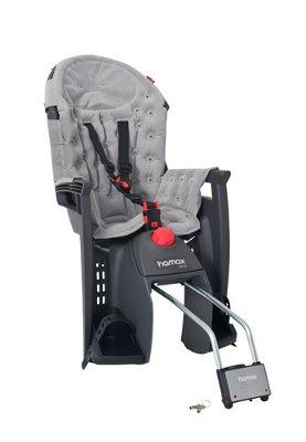 Детское кресло HAMAX SIESTA PREMIUM W/LOCKABLE BRACKET серый/серый, Велокресла - арт. 577810364