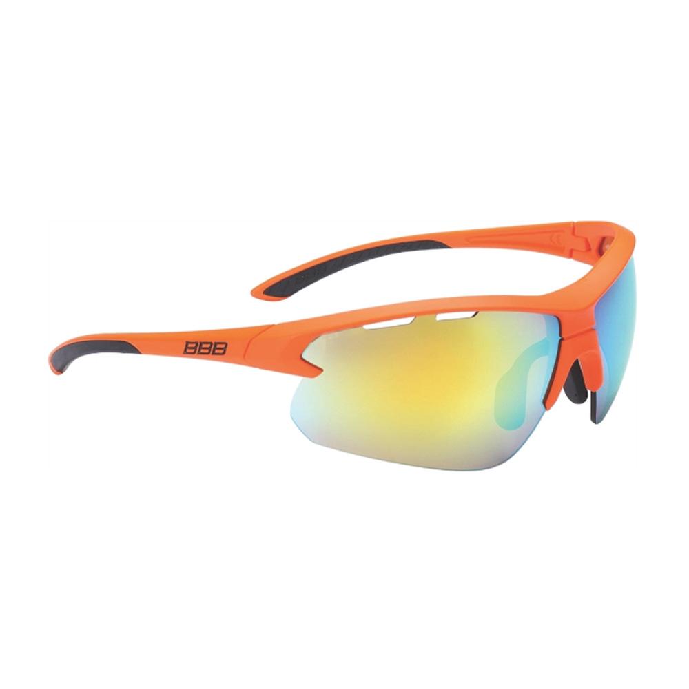 Очки солнцезащитные BBB 2018 Impulse PC Smoke orange MLC lenses оранжевый, черный, Очки солнцезащитные - арт. 1031380413