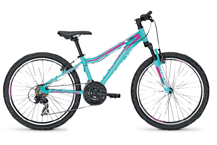 Велосипед FOCUS RAVEN ROOKIE 20 DONNA 2016 AQUABLUE