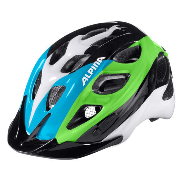 Летний шлем ALPINA 2016 JUNIOR / KIDS ROCKY black-blue-green