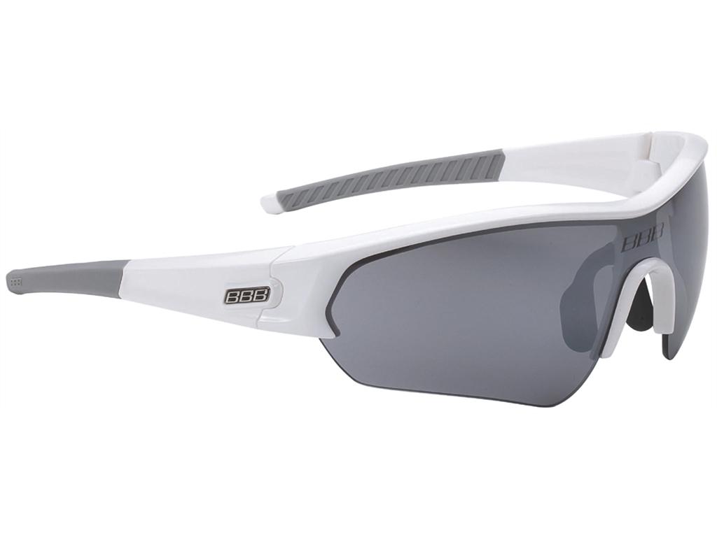 Оправа для велоочков BBB frame Select glossy white, grey temple rubber (BSG-43)