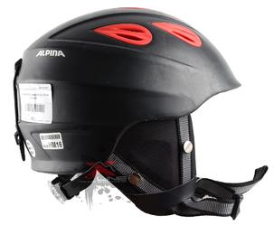 Зимний Шлем Alpina Junta 2.0 C JUNTA C black matt red (см:51-54)