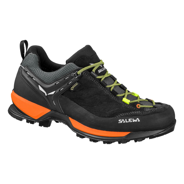Ботинки для треккинга (высокие) Salewa 2018 MS MTN TRAINER GTX Black Out/Holland, Треккинговая обувь - арт. 1028010252