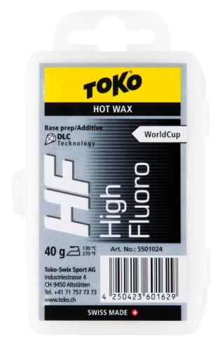 Универсальный парафин TOKO TRIBLOC TRIBLOC HF DLC (черная с молибденом, базовая 40 гр.), Уход за лыжами/сноубордом - арт. 604850435