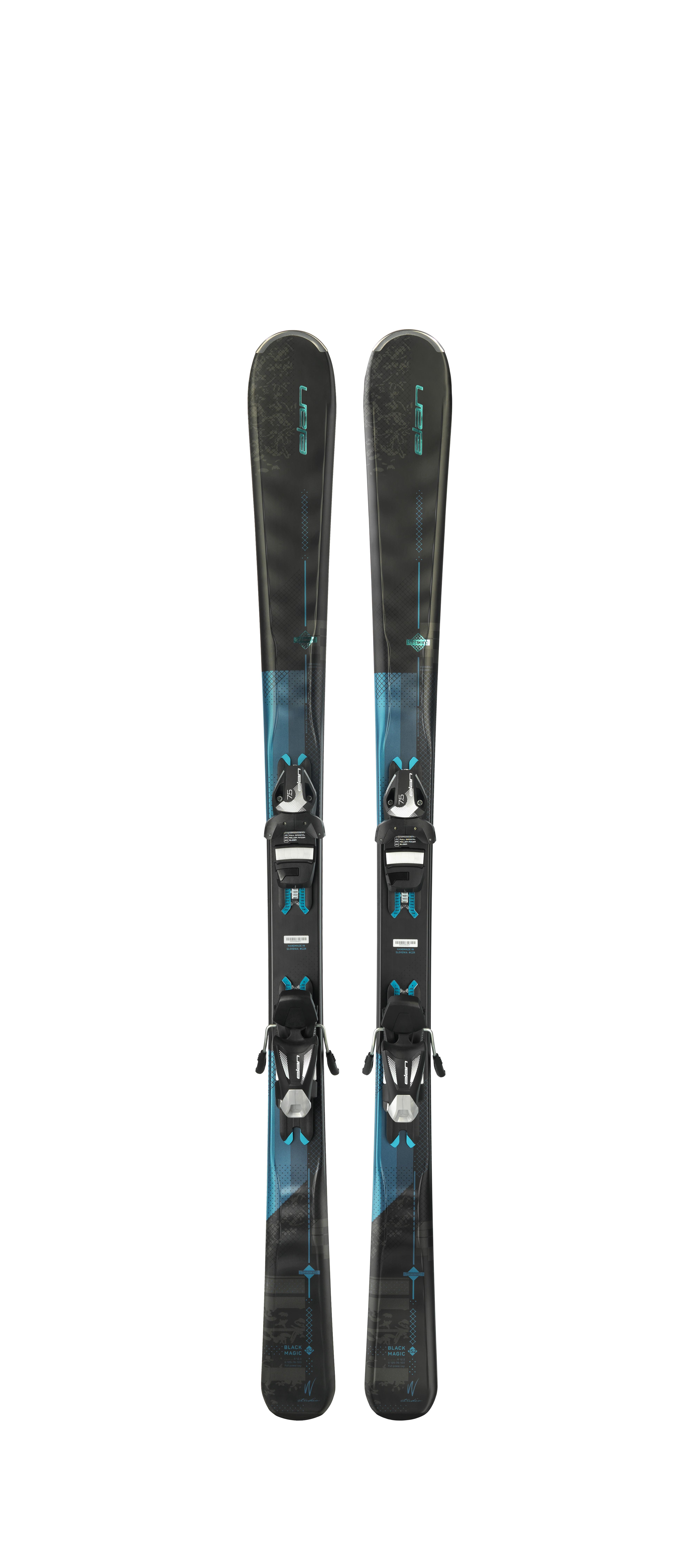 Горные лыжи с креплениями Elan 2017-18 Black Magic ELW 9 LS - артикул: 971880420