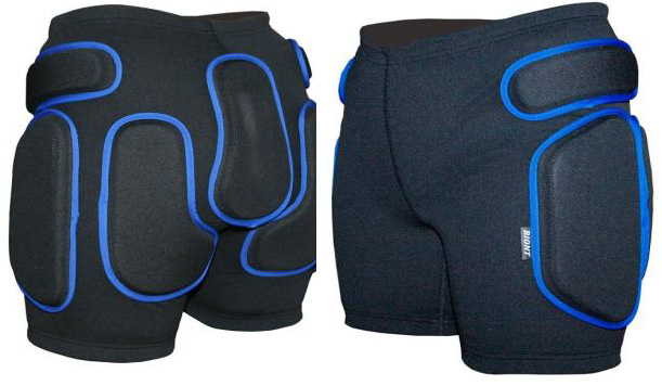 Защитные шорты BIONT Экстрим Плюс с закрытым пластиком 16-20мм Черный - артикул: 599870173