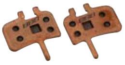 Тормозные колодки BBB DiscStop comp.w/Avid Juicy 7 Juicy 5 and Juicy 3w/spring Ultimate sintered Promax DSK-950 (BBS-42S)