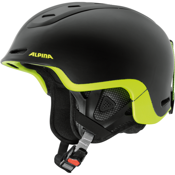 Зимний Шлем Alpina SPINE black-neon-yellow matt, Горнолыжные и сноубордические шлемы - арт. 926080428