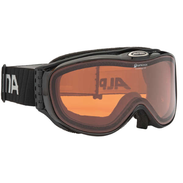 Очки горнолыжные Alpina CHALLENGE S 2.0 QH black H/T Diamond, Горнолыжные очки и маски - арт. 885130418