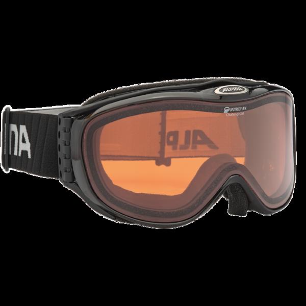 Очки горнолыжные Alpina CHALLENGE S 2.0 QH black H/T Diamond, Очки - арт. 885130161
