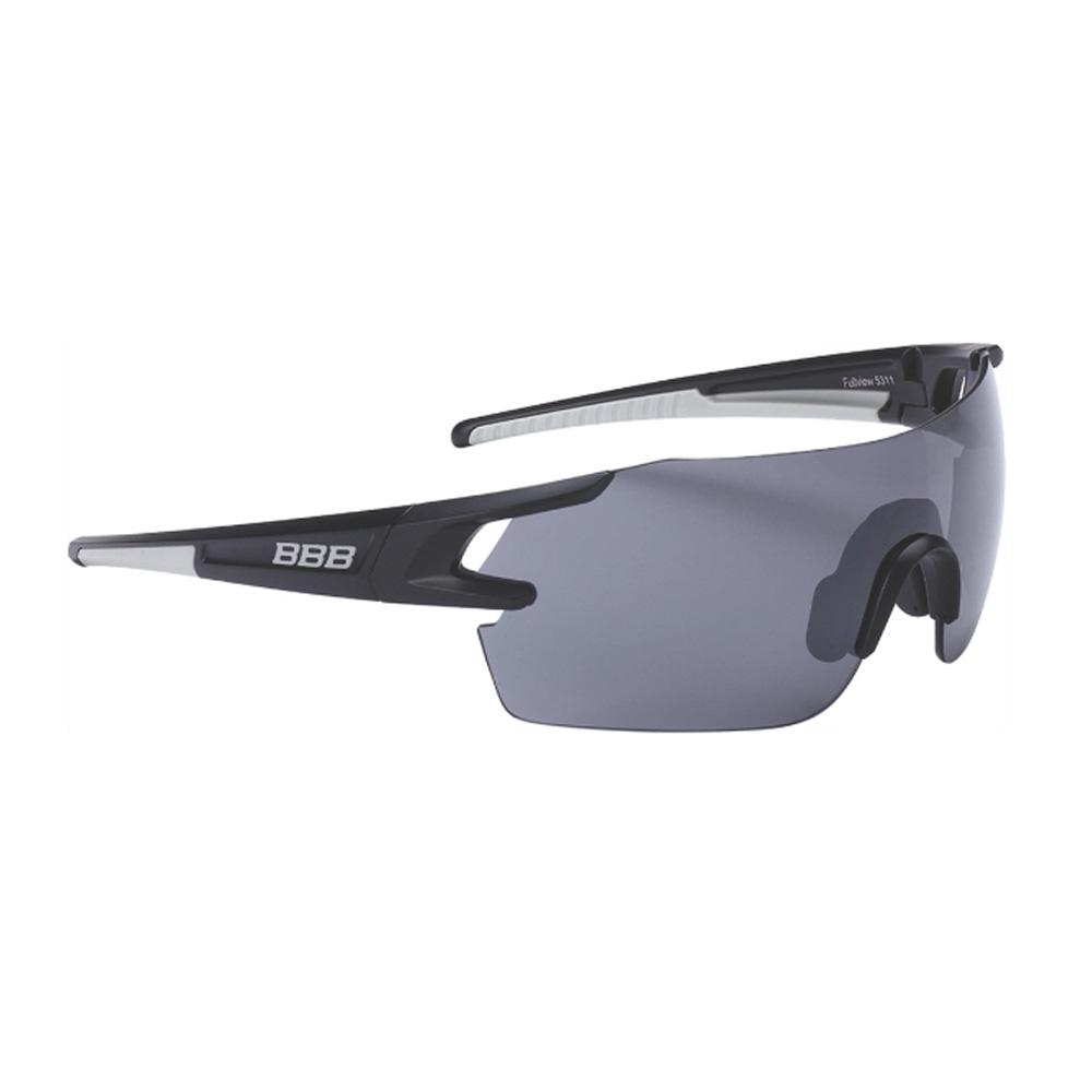 Очки солнцезащитные BBB 2018 FullView PC Smoke flash mirror lens черный, серый, Очки - арт. 1031330161