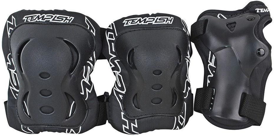 Комплект 3-х элементов защиты TEMPISH 2018 FID 3-set black, Защита при езде на роликовых коньках - арт. 1030320432