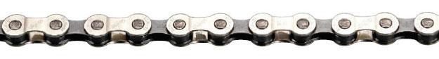 Цепь BBB PowerLine 10 speed 114 links Gray Nickel (BCH-101), Педали и трансмиссия - арт. 614140365