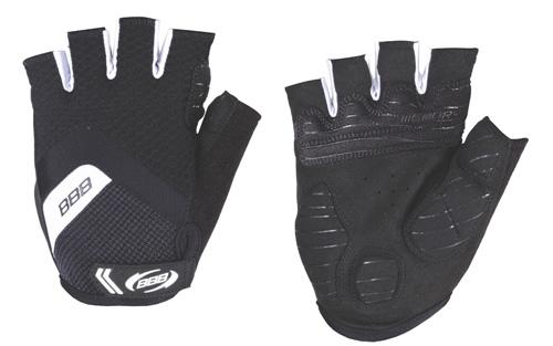 Перчатки велосипедные BBB HighComfort Gel black white (BBW-41)
