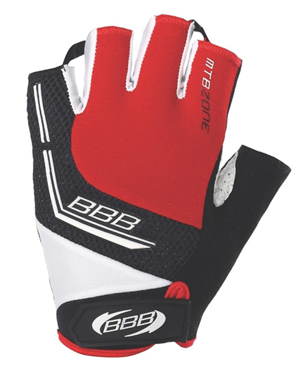 Перчатки велосипедные BBB MTBZone red (BBW-33)