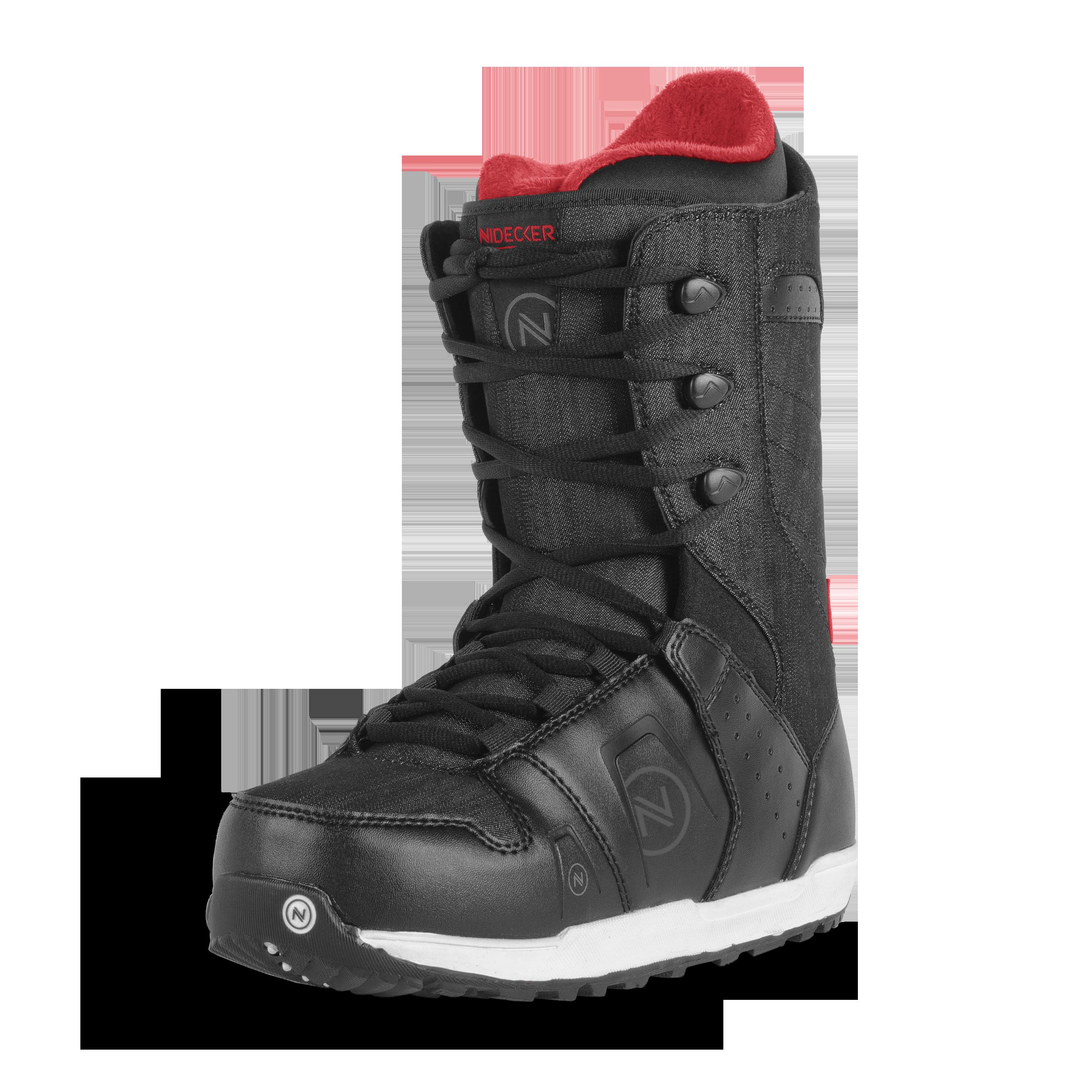 Ботинки для сноуборда NIDECKER 2017-18 CHARGER LACE BLACK 6e2705c732b