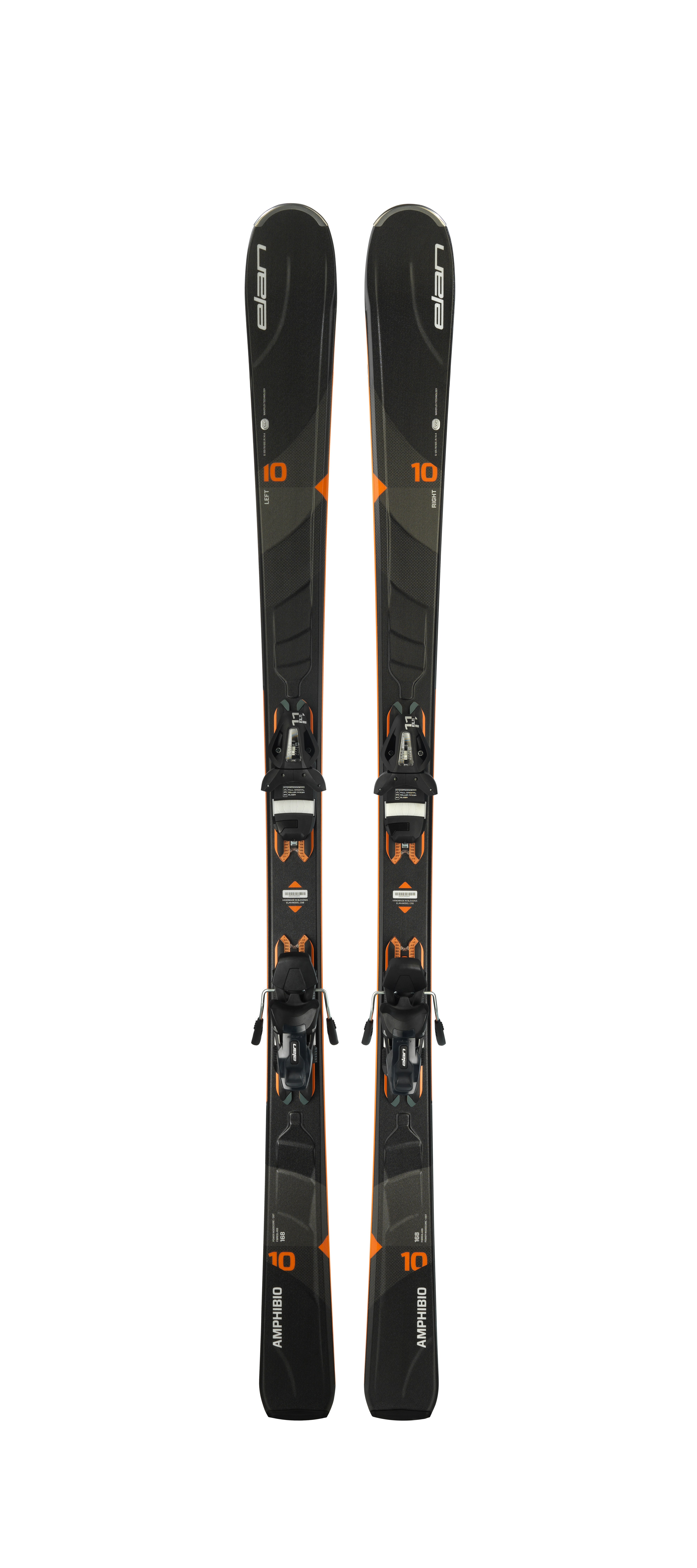 Горные лыжи с креплениями Elan 2017-18 Amphibio 10Ti EL 11 PS