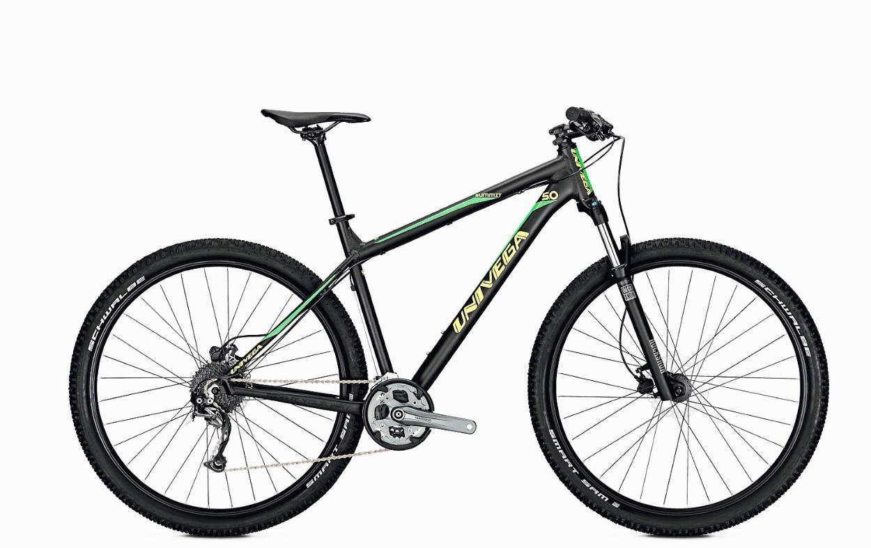 Велосипед UNIVEGA SUMMIT 5.0 2018 classic green matt (см:46/M), Велосипеды - арт. 997590390