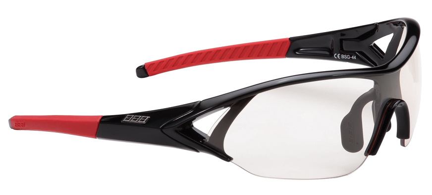 Оправа для велоочков BBB frame Impact glossy black,red temple rubber (BSG-44)